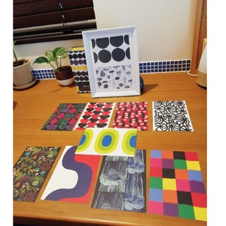 マリメッコ(marimekko)のマリメッコ ポストカード 冬 11枚 おまけ付き(その他)