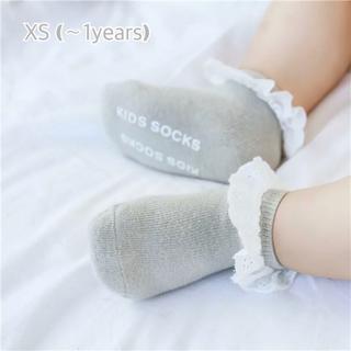 限定1set★ ベビーソックス レース フリル 結婚式 誕生日 新生児靴下
