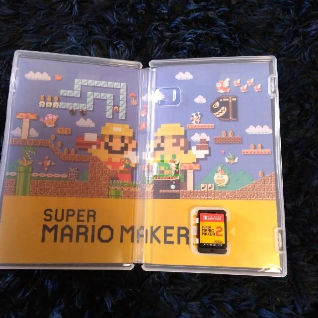 Nintendo Switch(ニンテンドースイッチ)のマリオメーカー2 SWITCHソフト エンタメ/ホビーのゲームソフト/ゲーム機本体(家庭用ゲームソフト)の商品写真