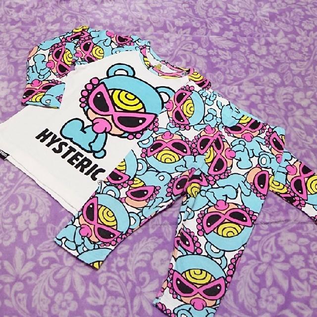 HYSTERIC MINI(ヒステリックミニ)のなお様専用♥🐻セトア90 キッズ/ベビー/マタニティのキッズ服男の子用(90cm~)(Tシャツ/カットソー)の商品写真