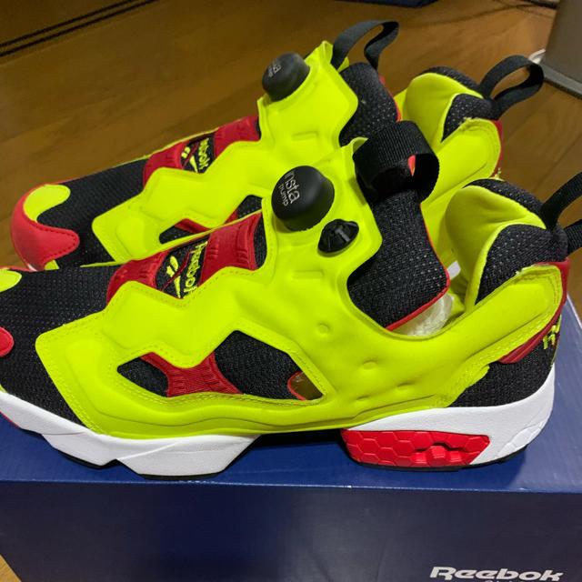 Reebok(リーボック)のREEBOK INSTA PUMP FURY OG CITRON 28.5ポンプ メンズの靴/シューズ(スニーカー)の商品写真