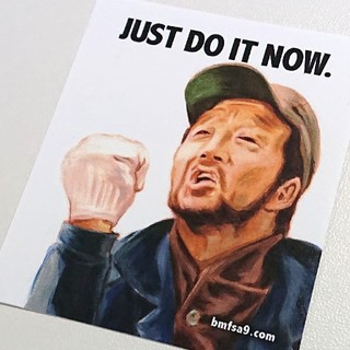 NIKE - ☆JUST DO IT NOW レア ステッカー by bmfsa9.com !