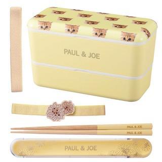 PAUL & JOE - PAUL&JOE ポール&ジョー  ヌネット 猫 ランチボックス+箸+ベルト