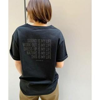 ドゥーズィエムクラス(DEUXIEME CLASSE)のMY LIFE Tシャツ(Tシャツ(半袖/袖なし))