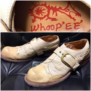 Whoop-de-doo送料込¥定価2万程レザー革靴シューズ26ワークスニーカー(ドレス/ビジネス)