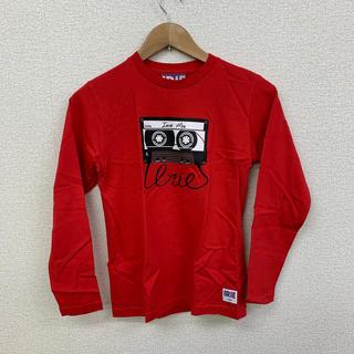 アイリーライフ(IRIE LIFE)の◆新品未使用◆irie lifeキッズ用ロンTシャツ レッド 150サイズ(Tシャツ/カットソー)