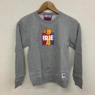 アイリーライフ(IRIE LIFE)の◆新品未使用◆irie lifeキッズ用トレーナー グレー 150サイズ(Tシャツ/カットソー)