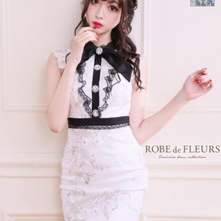 ローブ(ROBE)の【ROBE de FLEURS/ローブドフルール】キャバドレス (ミニドレス)