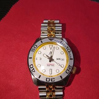 セイコー(SEIKO)の美品 セイコーボーイ 金銀白コンビ 7S26-0020 SKX007(腕時計(アナログ))