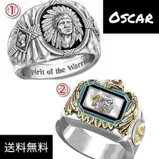 ネイティブ アメリカン ヴィンテージ リング メンズ シルバー  指輪(リング(指輪))