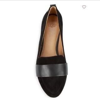 アグ(UGG)のUGG 美品 スエード靴(ローファー/革靴)