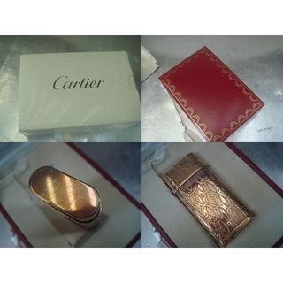 カルティエ(Cartier)の☆Cartier☆ガスライター☆USED品(中古品)☆(タバコグッズ)