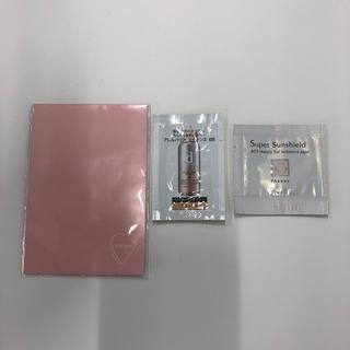 アクセーヌ(ACSEINE)のWHOMEE フーミー dプログラム アクセーヌ 試供品セット あぶらとり紙(サンプル/トライアルキット)