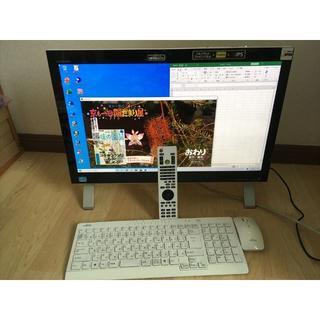 富士通 - FH56/KD★i7-3630★8G★2T★3波TV★W録画★Office