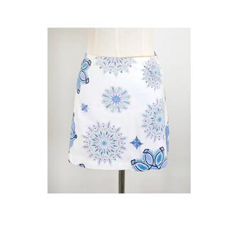 EMILIO PUCCI - 新品タグ付き PUCCI 雪の結晶クリスタルプッチ柄 ストレッチフィットスカート