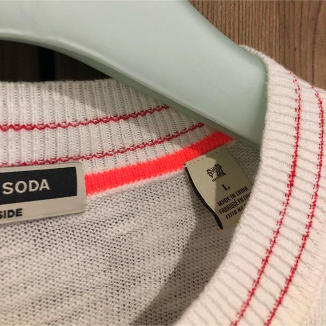 SCOTCH & SODA(スコッチアンドソーダ)のスコッチアンドソーダ サマーニット メンズのトップス(ニット/セーター)の商品写真