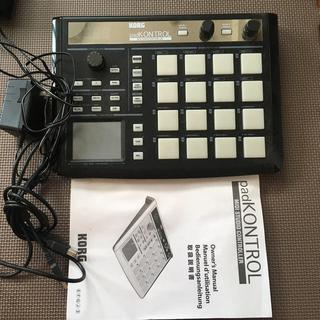 コルグ(KORG)のkorg padkontrol(MIDIコントローラー)