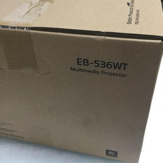 EPSON - EPSON EB-536WT 液晶プロジェクター(新品・未使用品)