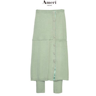 Ameri VINTAGE - AMERI VINTAGE LEGGINGS SET KNIT SKIRT S
