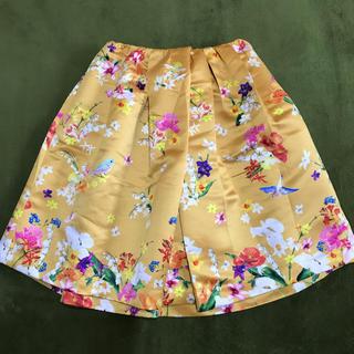 Chesty - chesty 定価18900円 スカート フラワー バード
