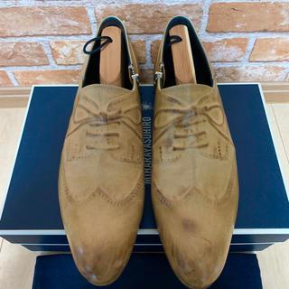 ミハラヤスヒロ(MIHARAYASUHIRO)のミハラヤスヒロ 美品 あぶり出し 靴(ドレス/ビジネス)