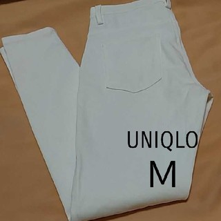 UNIQLO - ユニクロ UNIQLO スキニーパンツ レギンスパンツ レディース 白