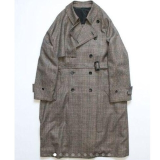 COMOLI - 新品未使用 S stein LAY OVERSIZED OVERLAP COAT