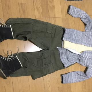 ジャーナルスタンダード(JOURNAL STANDARD)の全身セット 長袖半袖シューズ付 S〜Mサイズ(ワークパンツ/カーゴパンツ)