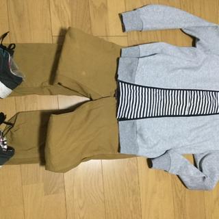 ジャーナルスタンダード(JOURNAL STANDARD)の全身セット 長袖半袖スニーカーセット S〜Mサイズ(ワークパンツ/カーゴパンツ)