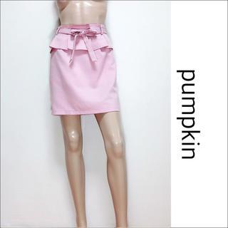 pumpkin ペプラム リボン スカート♡イング CECIL Mc BEE