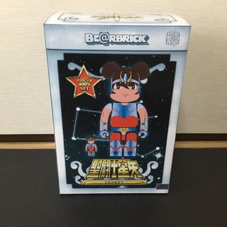 MEDICOM TOY - BE@RBRICK 天馬星座の星矢 100% & 400%