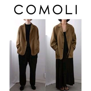 COMOLI - 46 COMOLI サルヴァトーレピッコロ テーラードジャケット カーキ