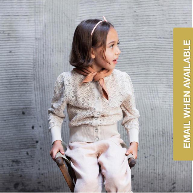 Caramel baby&child (キャラメルベビー&チャイルド)のsoor ploom カーディガン 4-5Y キッズ/ベビー/マタニティのキッズ服女の子用(90cm~)(カーディガン)の商品写真
