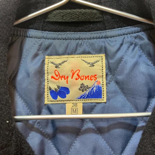 WACKO MARIA(ワコマリア)のdry bones wool riders jacket メンズのジャケット/アウター(ライダースジャケット)の商品写真