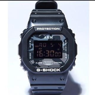 ジーショック(G-SHOCK)の10周年記念モデル 限定1000本 AKM G-SHOCK DW-5600(腕時計(デジタル))
