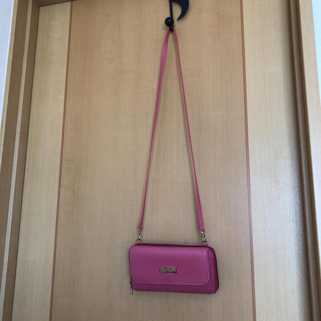 L'EST ROSE(レストローズ)のスマホも入る  長財布  ショルダーバッグ レディースのファッション小物(財布)の商品写真