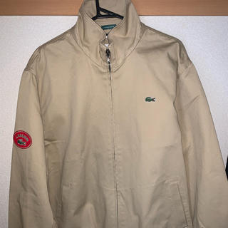 LACOSTE - LACOSTE×BEAMS ヴィンテージバッジブルゾン