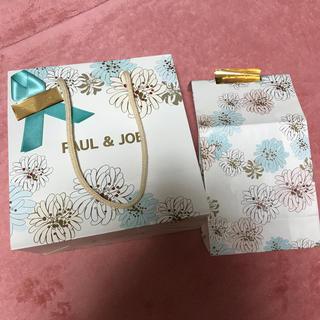 ポールアンドジョー(PAUL & JOE)のポールジョー紙袋 リボン付き(ショップ袋)