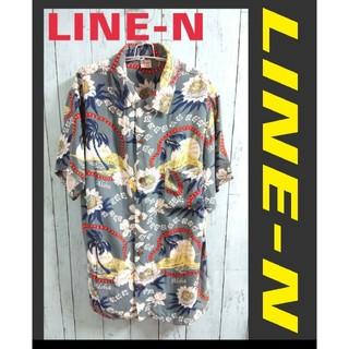 アートヴィンテージ(ART VINTAGE)のLINE-N オープンカラーシャツ 花柄 開襟シャツ  柄シャツ アロハシャツ(シャツ)