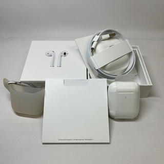 Apple - AirPods 第二世代 正規品 おまけ付