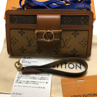 LOUIS VUITTON - 新作⭐️新品✨ ルイヴィトン…ジッピー・ドーフィーヌ❣️