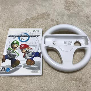 Wii - ニンテンドー マリオカート Wii ハンドル付き