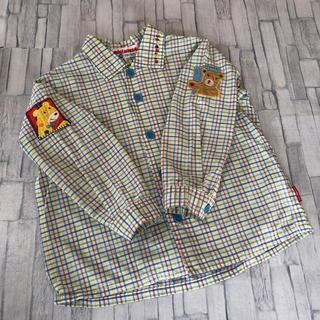 mikihouse - ミキハウス チェックシャツ  90