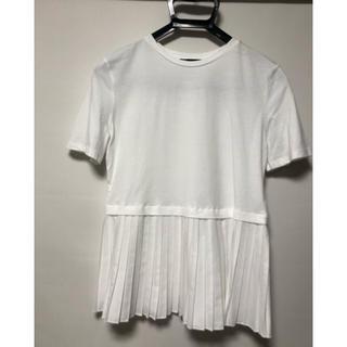 ZARA - ZARA 2020春 プリーツTシャツ