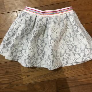 フェフェ(fafa)のfafaレーススカート 110美品(スカート)