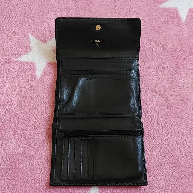 CHANEL(シャネル)のCHANEL 三つ折財布  キャビアスキン レディースのファッション小物(財布)の商品写真