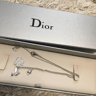 Christian Dior - 【3月末まで】Dior 幸せのクローバー&バードネックレス