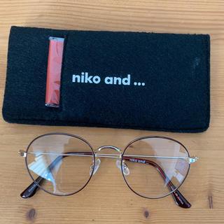 niko and... - niko and..,  オリジナル伊達眼鏡 細リムラウンド