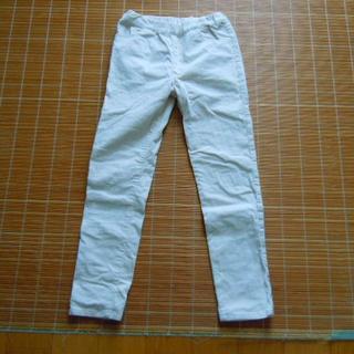 ミキハウス(mikihouse)のmikihouse 女の子用長ズボン(ジーンズ風) オフホワイト サイズ140(パンツ/スパッツ)