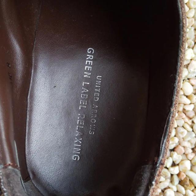 green label relaxing(グリーンレーベルリラクシング)のgreen label relaxing レザーシューズ 革靴 ダークブラウン メンズの靴/シューズ(ドレス/ビジネス)の商品写真